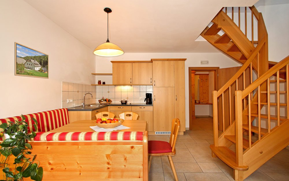 Apartments right under the mountains